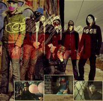Hollywood Undead- Band by ash-x-bash