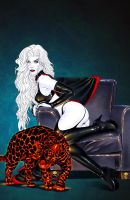 Lady Death 20 auxiliary cover by MDiPascale