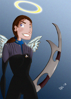 DS9 Tribute 2 - Jadzia Dax by rockpopple