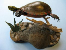 Painted Turtle 4 by Bagheera3