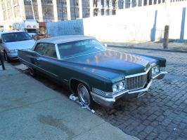 1970 Cadillac Coupe DeVille Convertible V by Brooklyn47