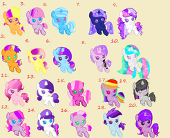 Twilight Shipping Adopts: 2 OPEN by Blossomdash