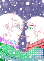 APH: Merry USUK Christmas by allyoucaneater