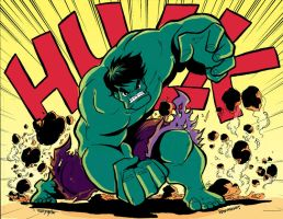 Hulk Smash by kross29