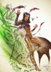 Swarm Queen D'Vorah. by Fezat1