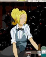 Cindy at your service XD by Enres