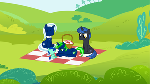 Family picnic by NortherntheStar
