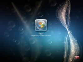 Bubbles logon for xp by amine5a5