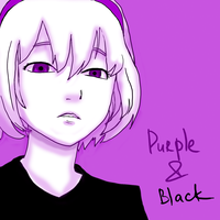 Purple And Black by zidxed