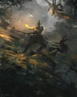 Forest Brawl by Vablo