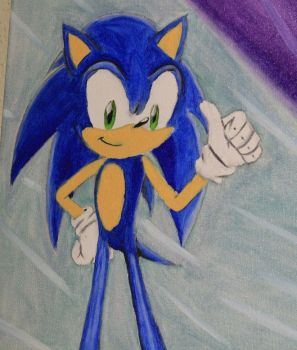 Childhood:  Sonic the Hedgehog by Raspberrythebat55