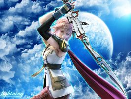 Final Fantasy XIII - Lightning by Raizen13