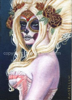 Day Of The Dead No. 5 by charlesartist