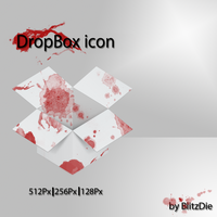 Dropbox Blood icon by BlitzDie
