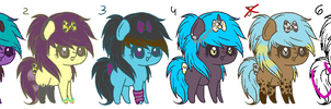 Scene Pony Auction :OPEN!: by ViolaAdopts