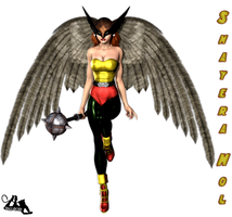 Shayera Hol, Hawk Girl by Idelacio