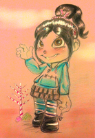 Vanellope by Mitzy-Chan