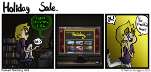 Holiday Sale by graynate