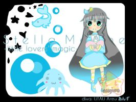 Stella Marine -little lovers' magic- COVER IMAGE by rosaryrinz