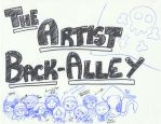 The Artist Back-Alley by haiban