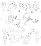 Requests And Commission Batch by MangaGirl987