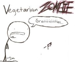 Vegetarian Zombie by FalseProphecy