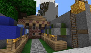 Cliffside: Market Square by TheKagestar