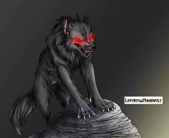 Evil Wolf by Yellow-Shadow