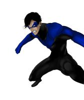 Art Trade: Nightwing by ExiaLohengrin