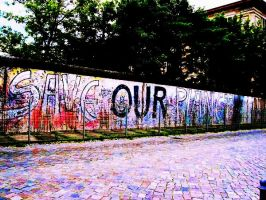 Berlin Wall by getyourownbox