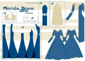 Merida - Pattern Draft by Hollitaima