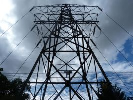 Electric Pylon Stock by he4rty