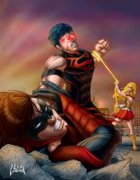 Young Injustice by belgerles