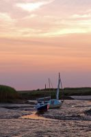 Sunset Morston Quay by parallel-pam