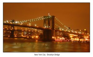 NYC - Brooklyn Bridge by hh