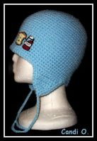 Toast and Jam Earflap Hat by Plum-L0c0