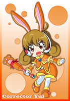 Corrector Yui - Elemental Suit Earth by Kamira-Exe