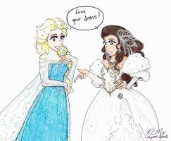 Frozen meets Labyrinth part 3 by Kiyomi-chan16