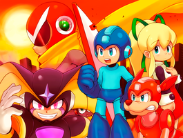Go Megaman [2014] by CheloStracks
