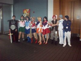 Sailor Moon Cosplayers by JayPrower