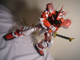 PG Astray Red Frame- Battosai? by lupesisagundam