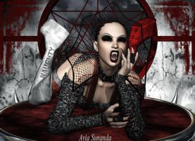 vampires in Wonderland2 by Avia-Sunanda