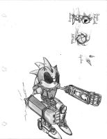 Silver Sonic by SonicRedesigned
