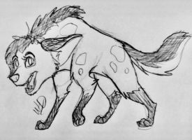 Hyena by Whooshie-Duck