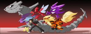 Lycan's Pokemon by WhiteTreeFox