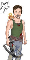 Daryl Dixon for MissB game by joeythir13en