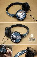 Hannibal Lecter Headphones by Bobsmade