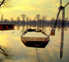 Flooded Boat by Beauty4ever