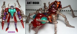 Beast Wars figures: Scavenger. by Lugnut1995