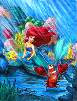 Commission: Under the Sea by matsuyama-takeshi